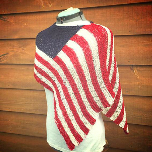 Independence Day Knitting Pattern by Dragonfly Designs
