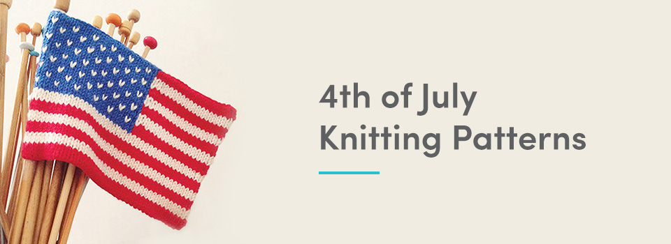 4th of July knitting